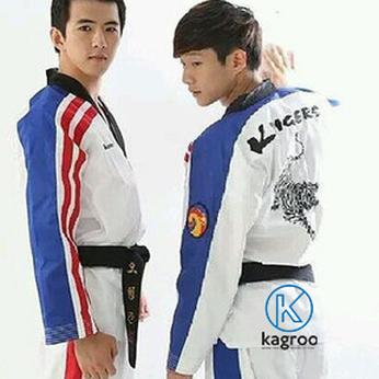 Võ Phục Taekwondo - Hiệu K-Tigers - Vải sọc III