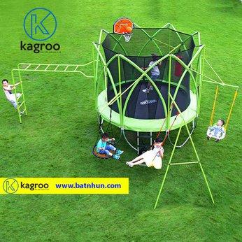Bạt nhún lớn 3,1m - Siêu Cao cấp (Big Trampoline 10ft - Super Luxury) - KR10FT-LX-Supern lớn 3