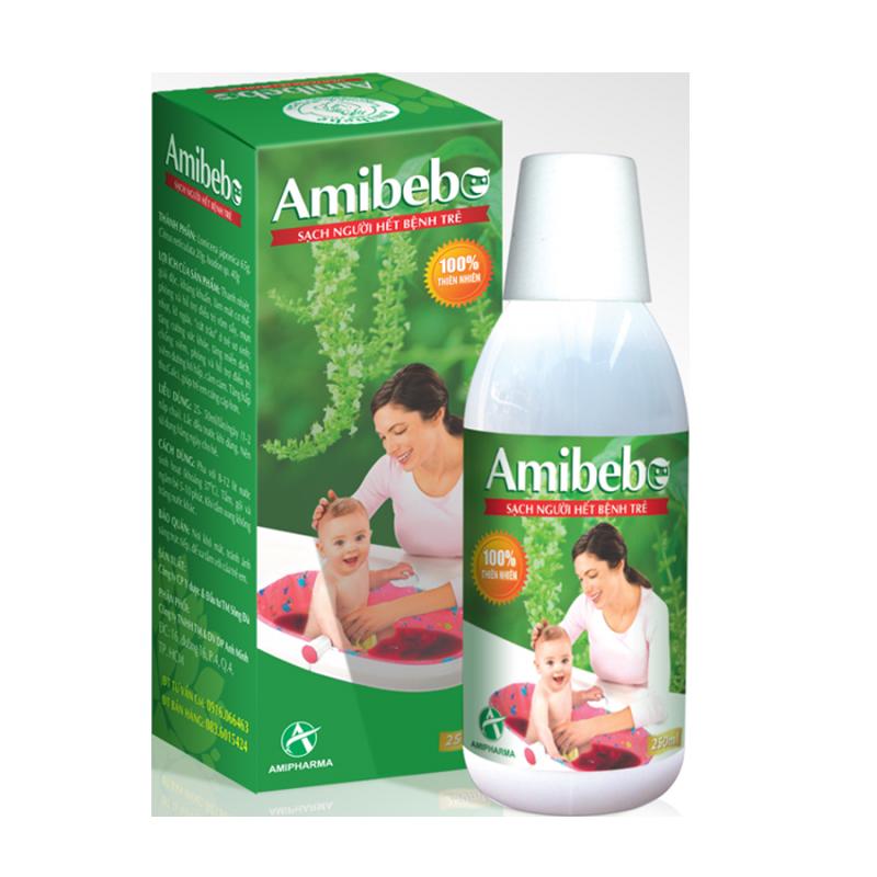 AMIBEBE- Hết rôm sảy, sạch da đầu cho bé