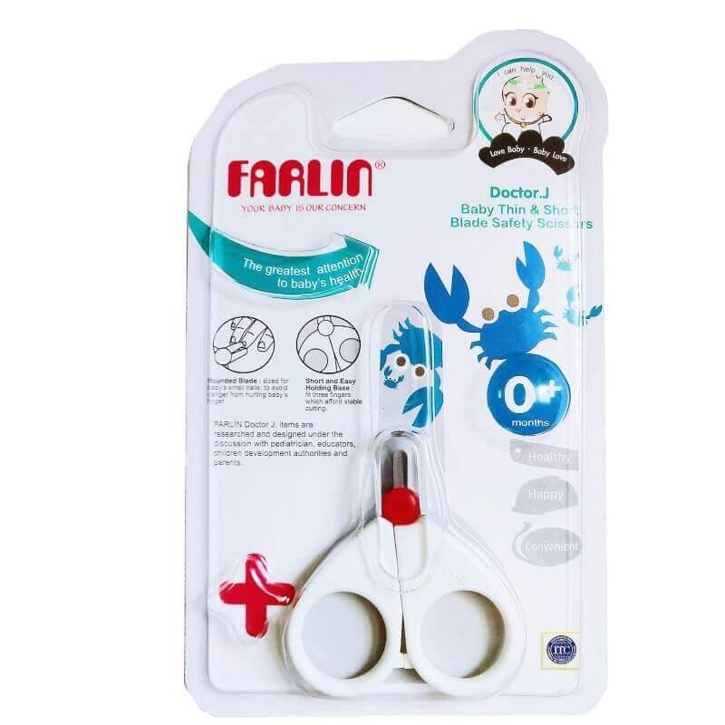 Kéo cắt móng tay cho trẻ sơ sinh - Farlin
