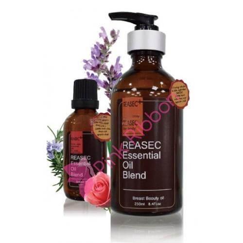 Tinh dầu chuyên dùng cho ngực Reasec- Trợ thủ cho nhũ hoa căng hồng