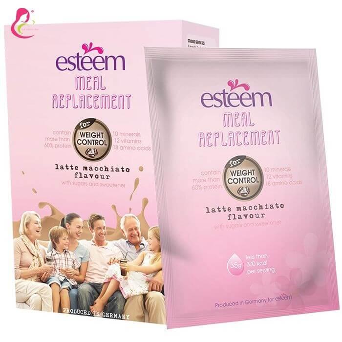 Esteem Collagen dưỡng da trước và sau khi sinh
