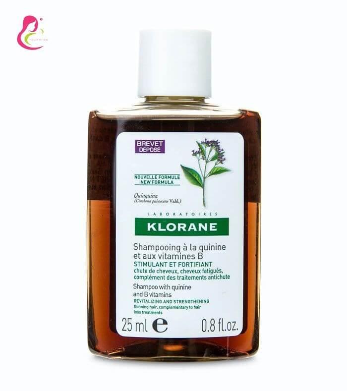 Dầu gội điều trị rụng tóc Klorane