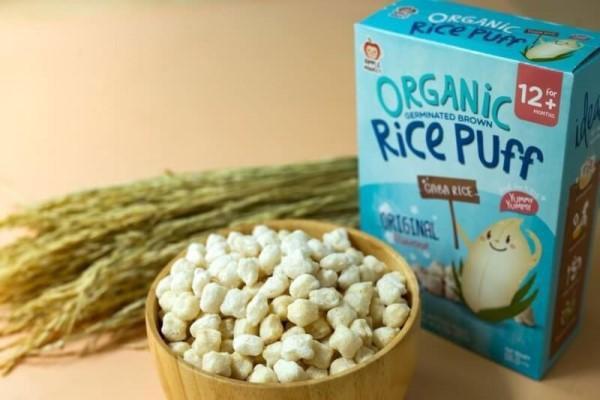 Bánh mầm gạo lức Organic