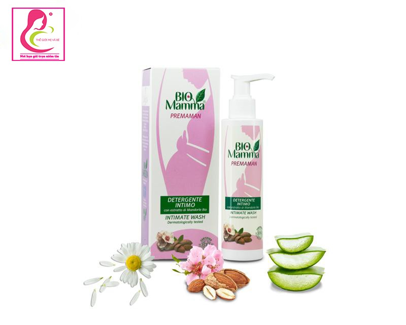 Dung dịch vệ sinh Organic cho phụ nữ mang thai Bio Mama