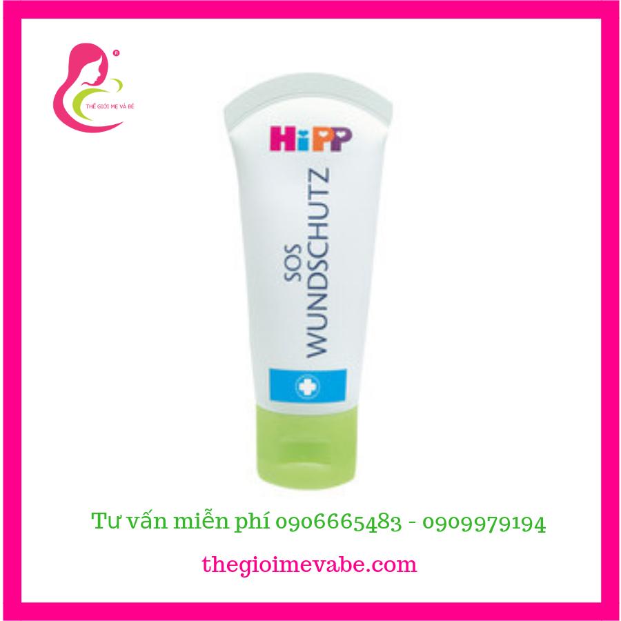 Kem trị hăm - dưỡng da cho trẻ em HiPP SOS