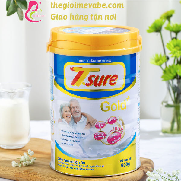 Sữa cho người già Tsure Gold