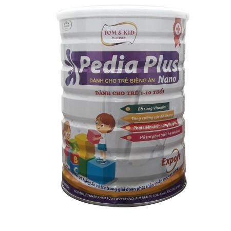 Tom & Kid Platinum Pedia Plus Nano - Sữa cho trẻ từ 1 đến 10 tuổi
