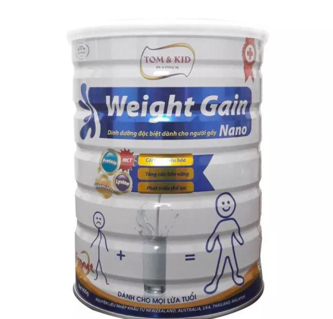 Sữa tăng cân - Tom & Kid Platinum Weight Gain Nano (900 gr)