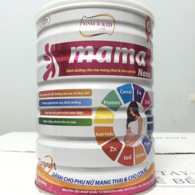 Sữa platinum MaMa Nano