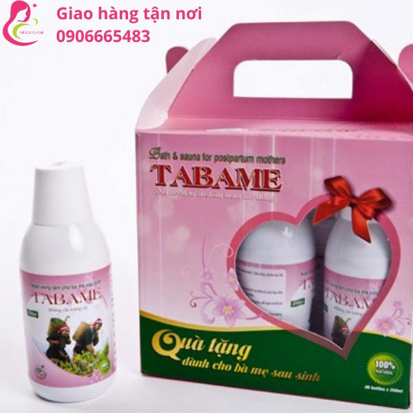 Thuốc nước xông tắm sau sinh Tabame