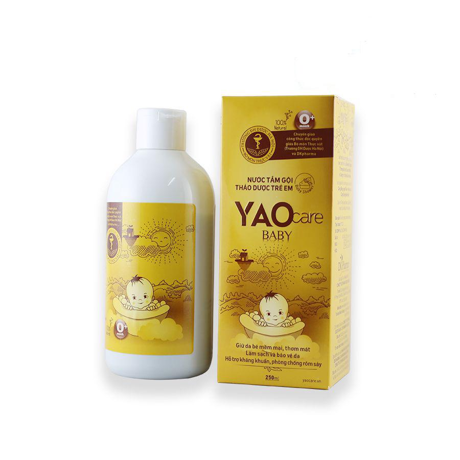 Nước tắm gội thảo dược trẻ em Yaocare Baby