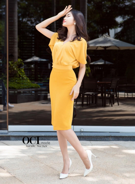 Set bộ áo váy AV002