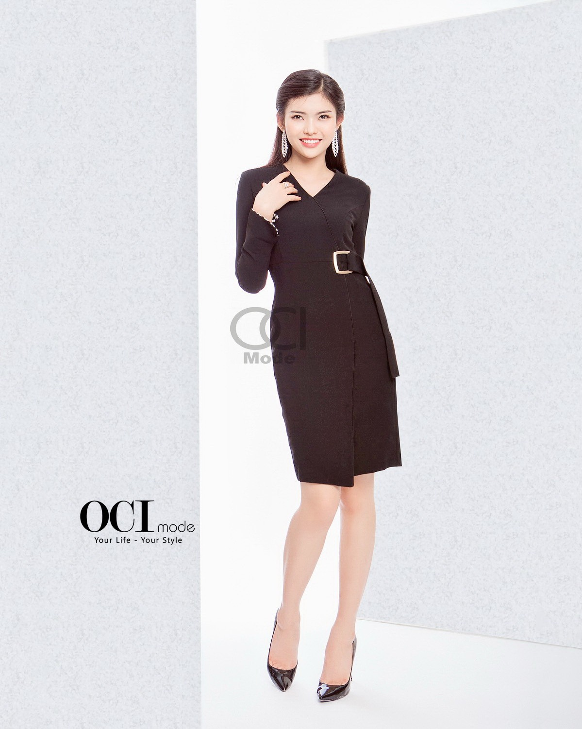 Choline Dress - Black