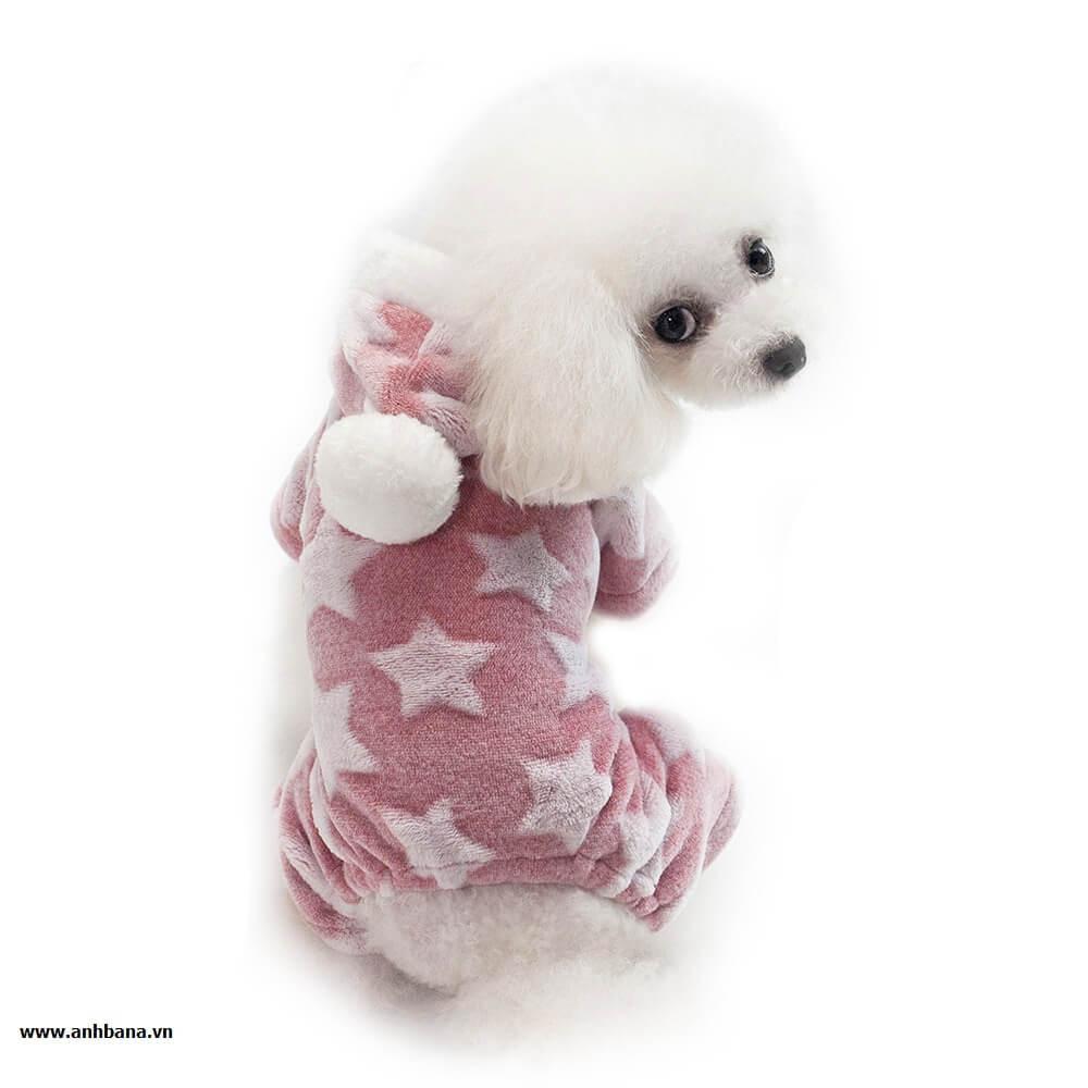 Áo cho chó hình ngôi sao