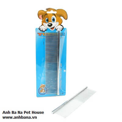Lượt chai lông chó mèo Inox