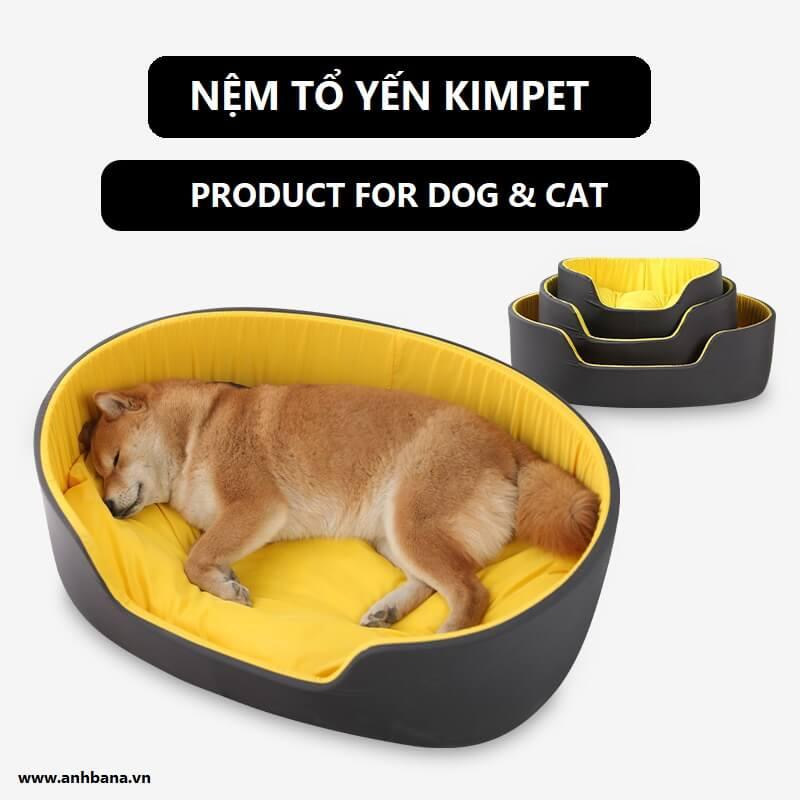 Nệm thú cưng hình tổ yến Kim Pet