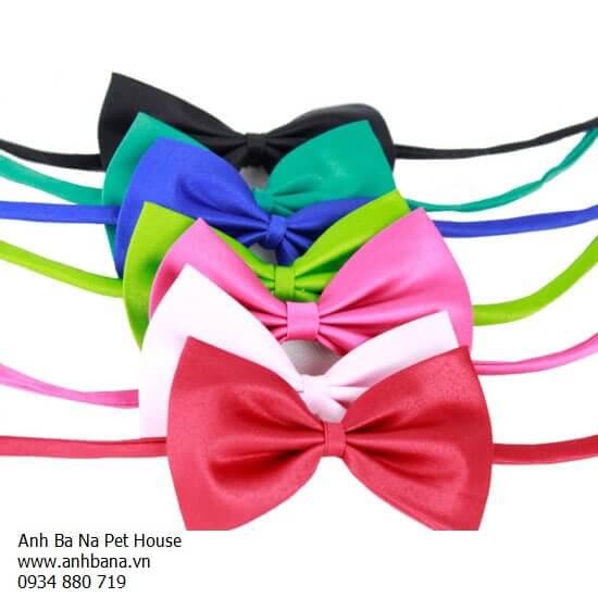 Nơ đeo cổ chó mèo (Nhiều màu)