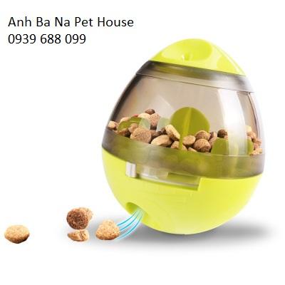 Quả bóng chứa thức ăn chó mèo