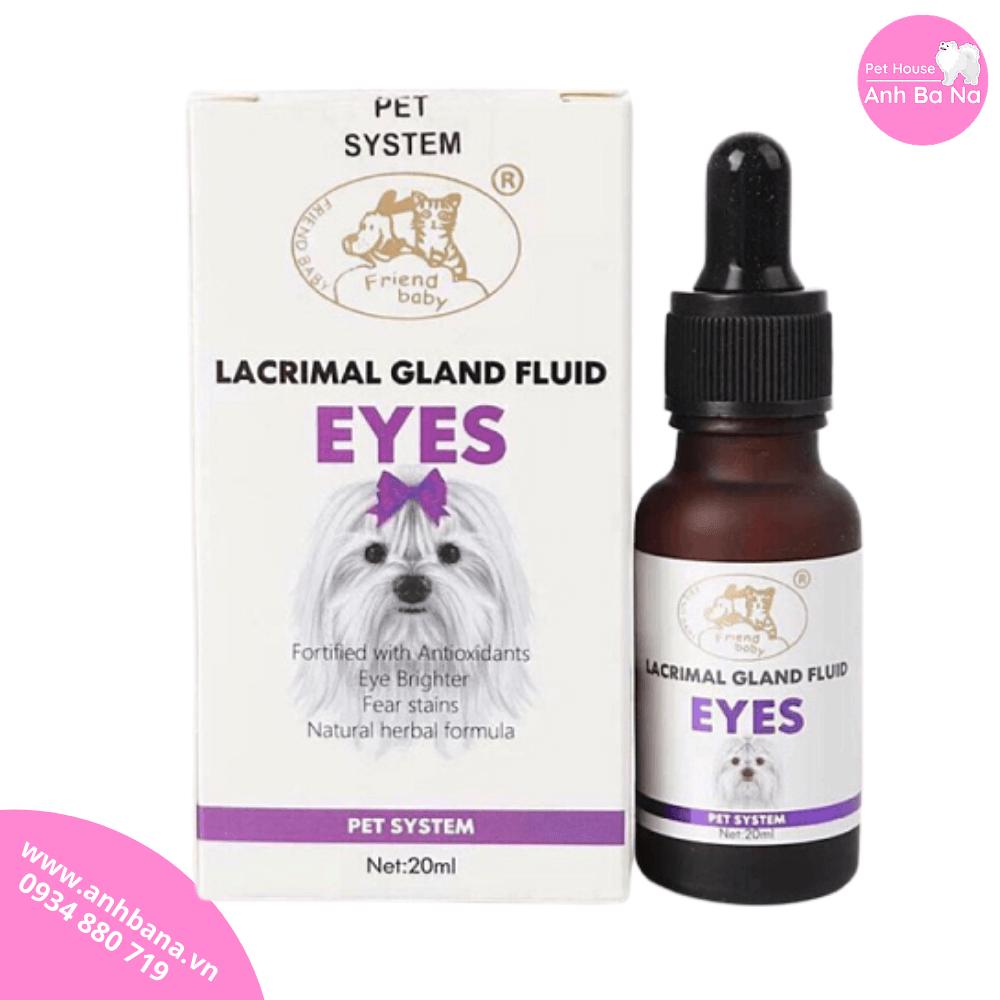 Siro chống chảy nước mắt cho chó Lacrimal Gland Fluid Eyes