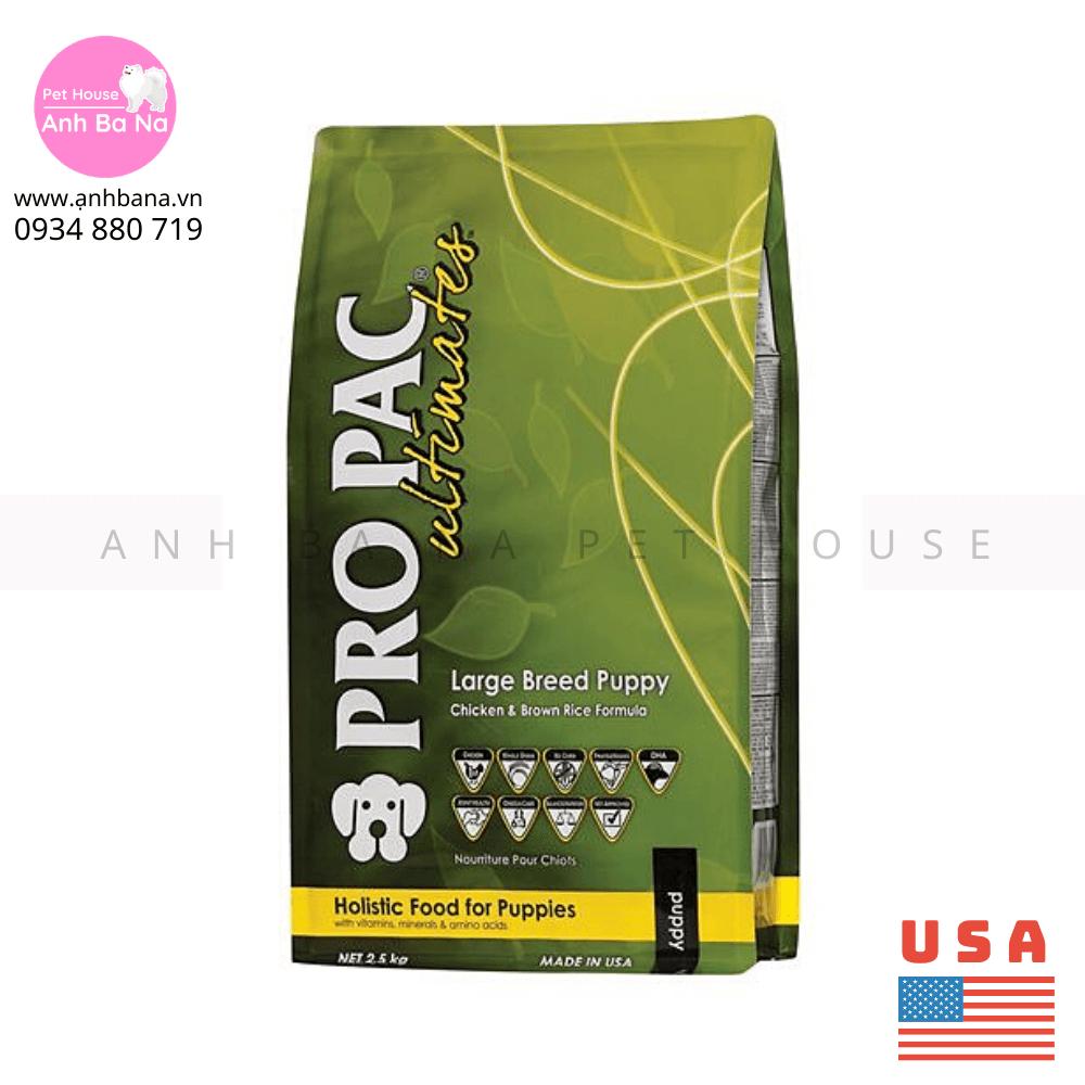 Thức ăn chó con giống lớn Pro Pac Lagre Breed Puppy 2.5 KG