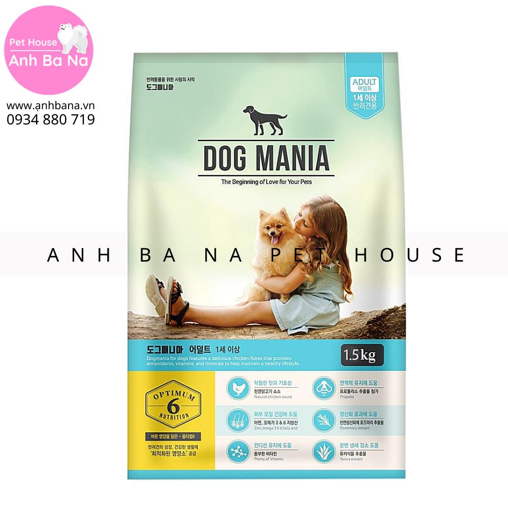 Thức ăn hạt chó trưởng thành Dog Mania