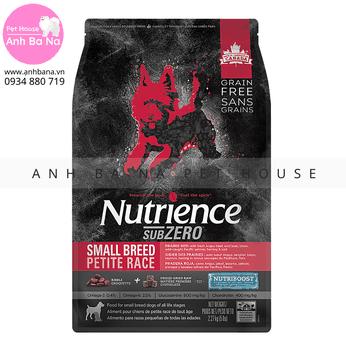 Thức ăn hạt cho chó Nutrience Subzero Canada