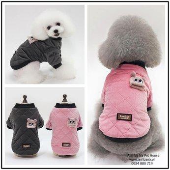 Áo ấm cho chó mèo GanGaj