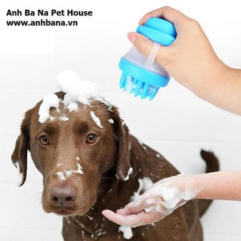 Bàn chải tắm chó mèo như SPA