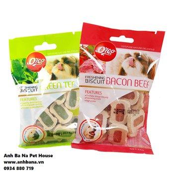 Bánh thưởng cho chó Orgo Biscuit 55 gram