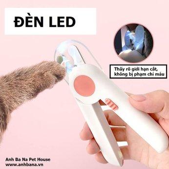 Cắt móng chó mèo đèn LED cao cấp