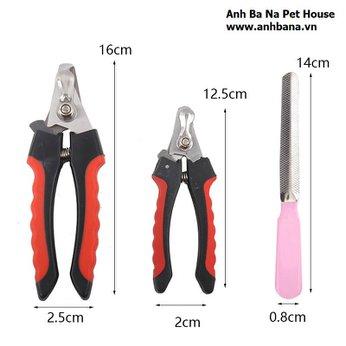 Bộ cắt dũa móng chó mèo (Combo)