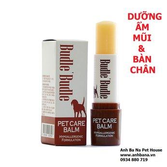 Sáp dưỡng ẩm da cho chó BUDLE (Mũi + Bàn Chân)