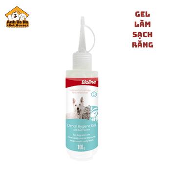 Gel làm sạch răng chó mèo Bioline