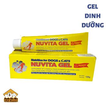 Gel dinh dưỡng chó mèo Nuvita 120 gram