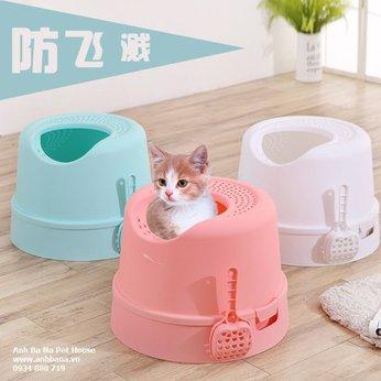 Nhà vệ sinh cho mèo lớn