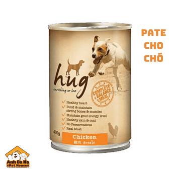 Pate cho chó Hug 400 gram