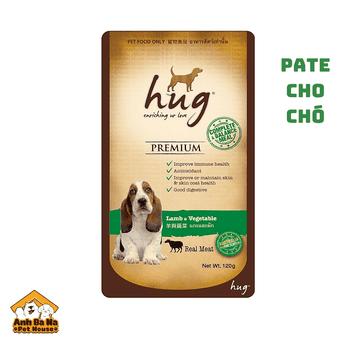 Pate cho chó Hug 120 gram