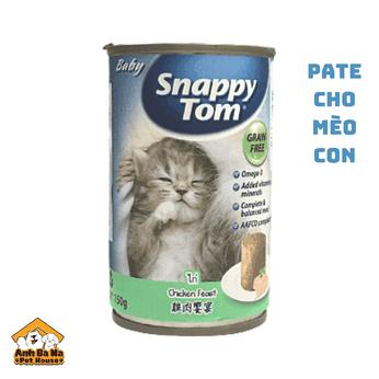Pate cho mèo con Snappy Tom 150 gram