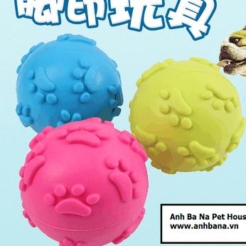 Quả bóng đồ chơi cao su cho chó mèo (Phát âm thanh)