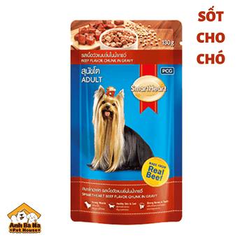 Sốt dinh dưỡng cho chó SmartHeart 130gr