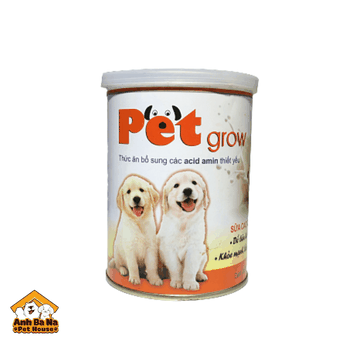 Sữa cho chó con Pet Grow