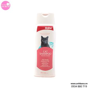 Sữa tắm cho mèo Bioline (Công nghệ Đức)