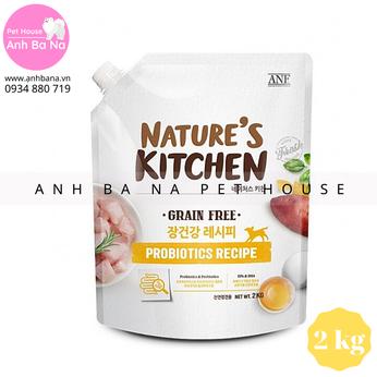 Thức ăn hạt cho chó tăng sức khỏe đường ruột ANF Nature's Kitchen