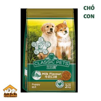 Thức ăn chó con Classic Pets