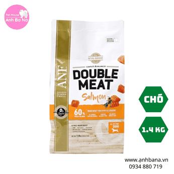 Thức ăn hạt khô cho chó vị cá hồi ANF Double Meat 1.4 Kg