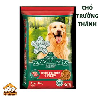 Thức ăn chó trưởng thành Classic Pets