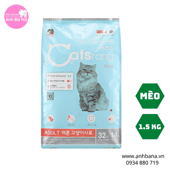 Thức ăn cho mèo trưởng thành Catsrang Adult 1.5 Kg