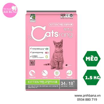 Thức ăn cho mèo con Catsrang Kitten 1.5 Kg