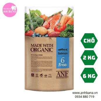 Thức ăn hạt khô cho chó ANF 6 FREE vị cá hồi